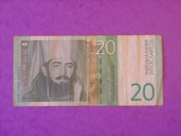 Yougoslavie 20 Dinara 2000 - Jugoslavia