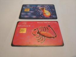 BELGIUM - nice lot of 2 nice chipphonecards