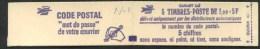 """1977/78 Francia, Libretto F.1,00 X 5 """"Sabine"""" Gomma Lucida Nuovo,  Serie Completa Nuova (**) - Libretti"""