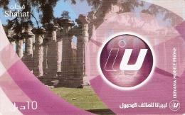 *LIBIA* - Scheda Telefonica Usata