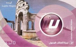 *LIBIA* - Scheda Telefonica Usata - Libyen