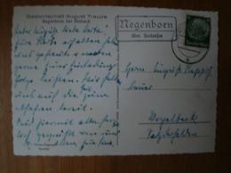 """Landpoststempel """"Megenborn über Kreiensen"""" Auf AK Negenborn! - Germany"""