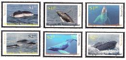 tou120101 Niuafo'ou 2012 Whales 6v Scott:263-8