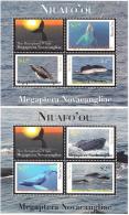 tou1201s1 Niuafo'ou 2012 Whales 2 s/s Scott:269-70