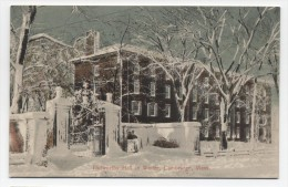 MA ~ Holworthy Hall In Winter CAMBRIDGE Massachusetts C1910 Harvard University - United States