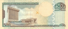 DOMINICAN REPUBLIC P. 172b 500 P 2004 UNC - Dominicaanse Republiek