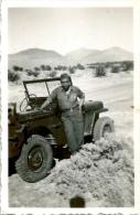 Photo Lot De 2 Photos Militaria Jeep - Guerra, Militares