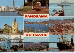 Panorama Du Havre : Multivues - Carte à Système 13 Vues - N°7624/9 éd Mage - Other