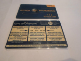 BELGIUM - RARE backside on Intouch 500 bef early card