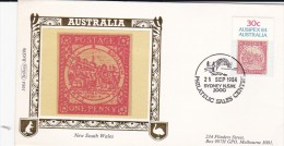 Australia 1984 Ausipex Benham FDC - Premiers Jours (FDC)