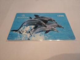 BELGIUM - RARE prepaid phonecard Belgacom - dolphin