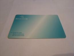 BELGIUM - RARE prepaid phonecard Belgacom - 'social needs'