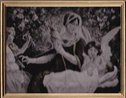 SOIE TISSEE ( Le Fil De La Vierge ) NEYRET FRERES D´apres E.sonrel - Altre Collezioni