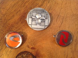3 Anciens  Insigne Ou Badge Guides De France Et Scouts De France - Scoutisme