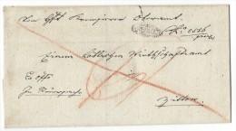 10997 - Lettre  KREMSIER 1833 - Bohême & Moravie