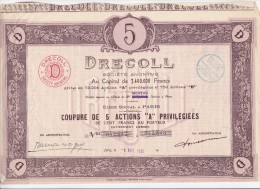 PARTUMERIE  DRECOLL - Parfums & Beauté