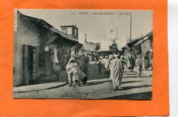 TUNISIE / TUNIS   1906   TYPE /  ETHNIQUE  LA RUE SIDI EL BECHIR   CIRC  OUI EDITEUR - Tunesië