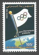 Djibouti 1996 Jeux Olympiques Olympic Games Atlanta Yvert 719H Michel 624 Neuf Mint MNH - Summer 1996: Atlanta