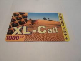 BELGIUM -  HIGH VALUE 1000 BEF + 10% on XL-Call prepaid phonecard desert