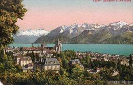 CPA LAUSANNE ET LES ALPES - VD Vaud