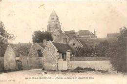 89 THORIGNY SUR OREUSE L ENTREE DU BOURG EN VENANT DE SENS - Other Municipalities
