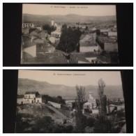 2 Cpa SAIDA Village de Boudia et ravin de l'oued Oukiff