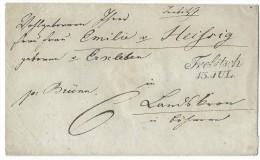 11006 -  Lettre TREBITSCH 1846 - Bohême & Moravie