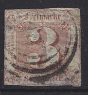 Germany (Thurn Und Taxis) 1859-61  (o)  Mi.17 - Thurn Und Taxis