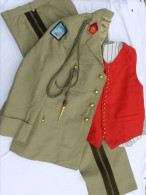 BEL ENSEMBLE OFFICIER ARTILLERIE ETAT MAJOR  Années 1970 ... à Voir ...... #.2 - Uniforms
