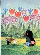 Carte Postale,bande Dessinée, KRTEK, Mole La Taupe, Dessin Animé Tchecoslovaque - Humorkaarten
