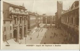 VICENZA -LOGGIA DEL CAPITANIO E BASILICA -FP - Vicenza
