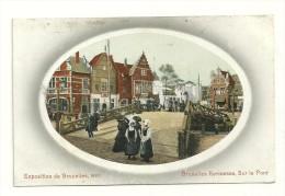 Exposition De Bruxelles, 1910 : Bruxelles Kermesse : Sur Le Pont - Expositions