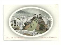 Exposition De Bruxelles, 1910 : Intérieur De La Section Britannique - Expositions