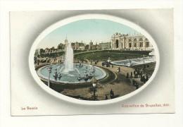 Exposition De Bruxelles, 1910 : Le Bassin - Expositions