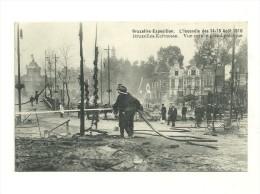 Exposition De Bruxelles, 1910 : Incendie Des 14-15 Août 1910 : Bruxelles Kermesse - Expositions