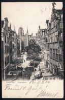 A2962) Danzig Ansichtskarte Frauengasse 17.3.1904 Gebraucht Used