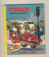 DONALD CHAUFFEUR MODELE      par Walt Disney - Les Albums Roses - 1956   BON ETAT