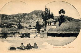Palca, Pueblo, Iglesia - Bolivia
