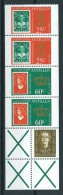 1980 Netherlands Antilles Inhoud Postzegelboekje,coil Stamps,booklet Stamps MNH,Postfris,Neuf Sans Charniere - Curacao, Netherlands Antilles, Aruba