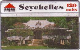 SEYCHELLES VIEILLE CASE CREOLE N° 504A.... 120U UT - Seychellen