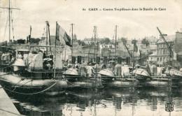 CAEN(CALVADOS) BATEAU DE GUERRE - Caen