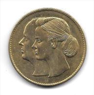 Médaille Touristique Mariage Du Prince Albert De Monaco 2011 - Tourist