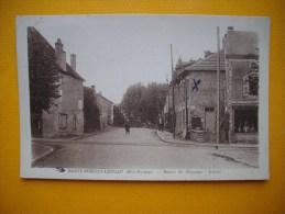 Cpsm    SAINT SORNIN LEULAC  -  87  -  Route De Magnac Laval  -  Haute Vienne - France