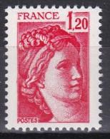 1974 Sabine 1f20 Rouge - 1977-81 Sabina Di Gandon