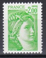1977 Sabine 2f Vert-jaune - 1977-81 Sabina Di Gandon