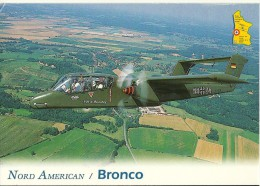 AVION AVIATION  NORD AMERICAIN / BRONCO  OV-BRONCO REMORQUEUR DE CIBLE 1965   EDIT. MUSEE EUROPEEN AVIATION CHASSE - 1946-....: Moderne