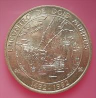 Portugal 1000 Escudos Encontro De Dois Mundos Silver - Portugal