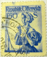 Austria 1951 Vienna 1.50s - Used - 1945-.... 2nd Republic