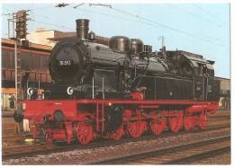 TRAIN Allemagne - EISENBAHN Deutschland - TRIER - Personenzug Tenderlokomotive 78 510 - Trains