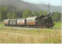 TRAIN Suisse - EISENBAHN Schweiz - La Krauss-Maffei En Tête - Vapeur Val-de-Travers - SAINT-SULPICE - Trains
